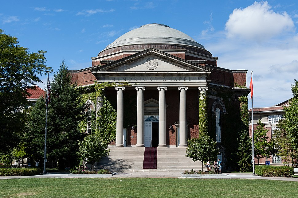 Hendricks Chapel, Syracuse University, 2012