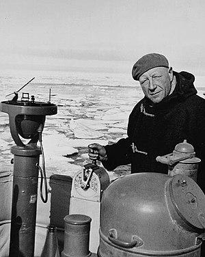 Henry Larsen (explorer) - Henry Larsen on the RCMPV ''St. Roch''