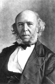 Portrait of Herbert Spencer from Wikipedia