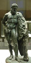 Heracles of the Farnese type