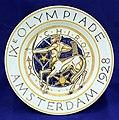 Herinneringsbord IXe Olympiade (J W Rozendaal, 1928), NV De Sphinx vh P Regout.jpg