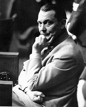 Reichsleiter Rosenberg Taskforce - Göring at the Nuremberg Trials