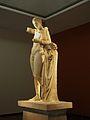 Hermes amb Dionís infant de Praxíteles (Museu Arqueològic d'Olímpia).JPG