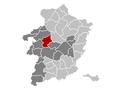 Heusden-Zolder Limburg Belgium Map.png
