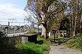 Hie shrine to snuggle up to Tōkaidō Shinkansen.jpg