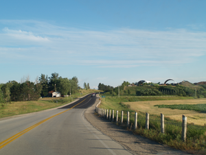 Ontario Highway 27 - The alignment completed in 1968 provided a direct route between the two discontinuous sections of Highway 27.