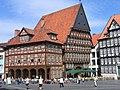 Hildesheim Knochenhaueramtshaus Hildesia.JPG