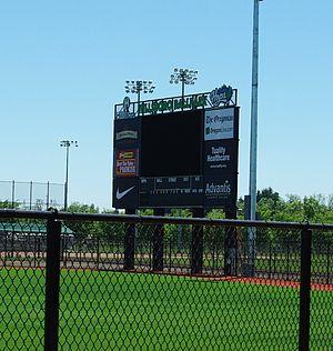 Hillsboro Hops - Ron Tonkin Field scoreboard