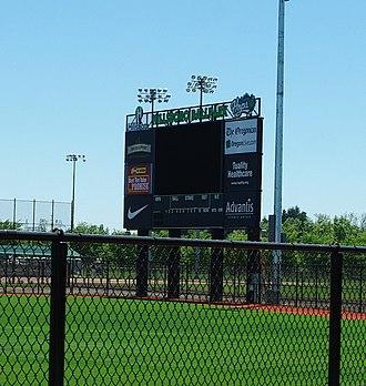 Ron Tonkin Field - Image: Hillsboro Ballpark June 2013 scoreboard Oregon