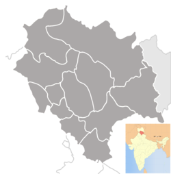 Map of Himachal