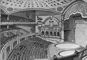 New York Hippodrome - The interior of the Hippodrome