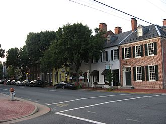 Fredericksburg, Virginia - Historic downtown Fredericksburg