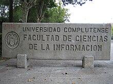Facultad de ciencias de la informaci n universidad for Oficina relaciones internacionales ucm