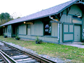 Holland Patent Railroad Station, Rear.png