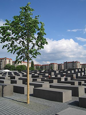 Memorial to the Murdered Jews of Europe - Image: Holocaust memorial tree