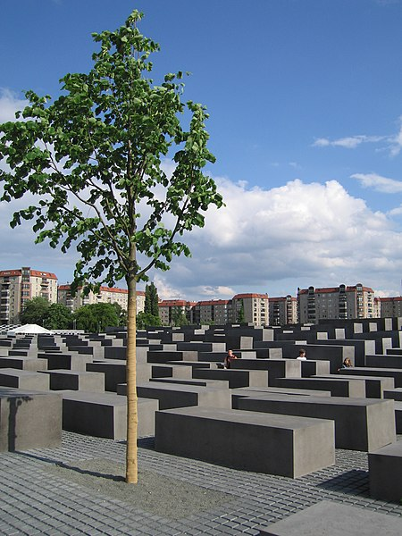Memorial to the Murdered Jews of Europe foto - Wikipedia -Author: John C. Watkins