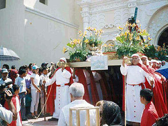 Culture of Honduras - A procession in Comayagua
