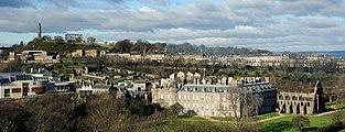 Holyrood Palace Abbey Calton Hill.jpg