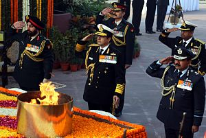 Homage ceremony at Amar Jawan Jyoti on Navy Day 2015 (02).JPG
