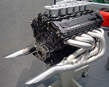 A 1991 Honda Ra121e V12 Engine