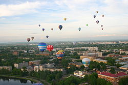 Hot air balloon festival Velikiye Luki, Pskov Region.jpg