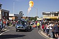 Hot air balloons in the SunRice Festival parade in Pine Ave.jpg
