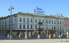 Hotel Europejski W Krakowie Ul Lubicz