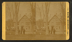 Union, Maine - Image: Hotel at Union, Maine, by F. W. Cunningham