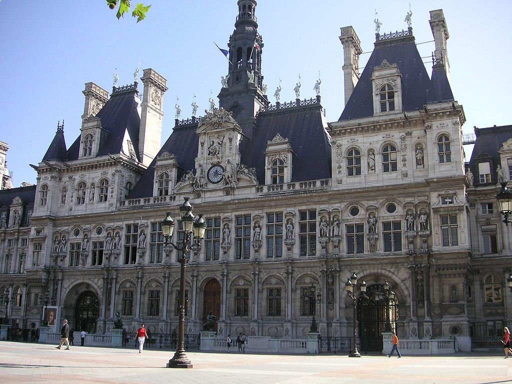 File hotel de ville paris jpg wikimedia commons for Hotel de ville