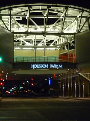 GreenStreet - Image: Houston Pavilions Logo Night