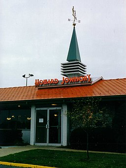 Howard Johnsons restaurant 1999 PA entrance