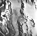 Hugh Miller Glacier, valley glacier, icefield and glacier remnents, August 24, 1963 (GLACIERS 5479).jpg