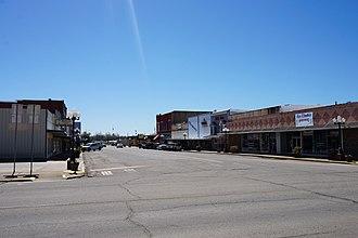 Hugo, Oklahoma - Broadway Street in Hugo
