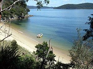 Cowan Creek - Hungry Beach and the lower reaches of Cowan Creek, Australia