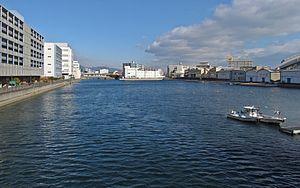 Hyōgo-ku, Kobe - Hyogo Canal