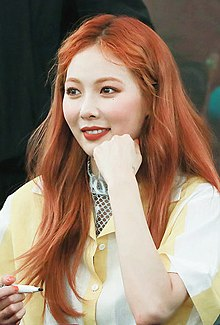 HyunA at a fansign on May 12, 2017 3.jpg