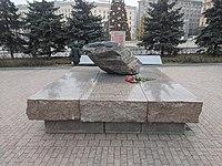 Лубянская площадь: Соловецкий камень