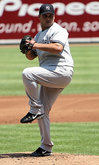 Jaret Wright - Wright with the New York Yankees