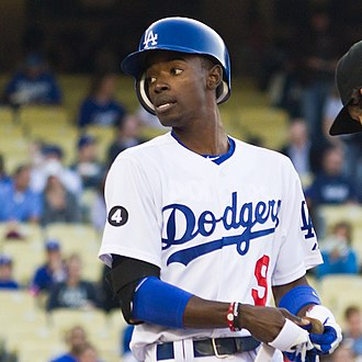 Dee Gordon - Gordon during his tenure with the Los Angeles Dodgers in 2011