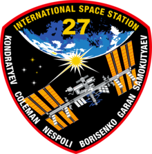 Description de l'image ISS Expedition 27 Patch.png.
