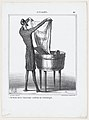 I can wash as much as I want, the old color won't come back, from 'News of the day,' published in Le Charivari, March 8, 1869 MET DP877780.jpg