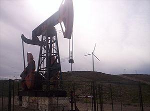 Golfo San Jorge Basin - Oil well near the port city of Comodoro Rivadavia