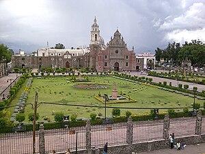 Chalco de Díaz Covarrubias - Church
