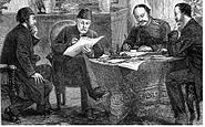 Ignatiev signing treaty