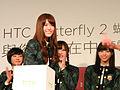 Ikoma Matsumura Shiraishi Nishino Nogizaka46 HTC event 20140903.jpg