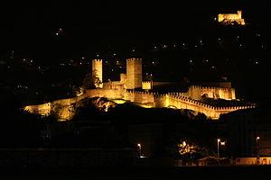 Letzi - The castles and defensive barriers of Bellinzona