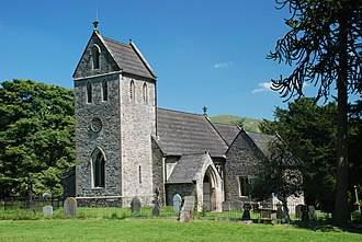 Ilam, Staffordshire - Church of the Holy Cross