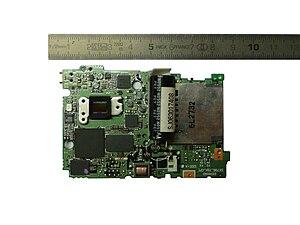 Image sensor - Image: Image sensor and motherbord nikon coolpix l 2