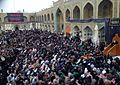 Imam Ali Holy shrine Al Najaf Al Ashraf Main Sahan during10 Muharam 1435 H. memorial.jpg