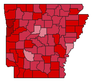 United States presidential election in Arkansas, 1972 - Image: Img.AR pre 1972